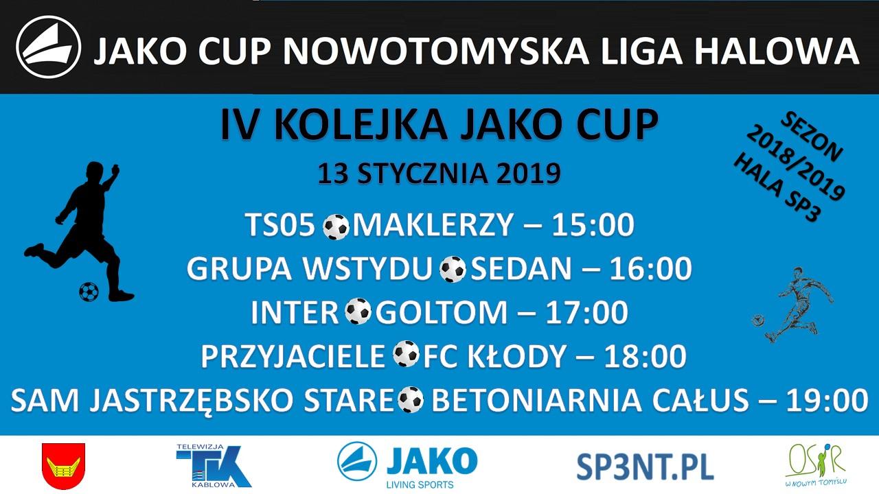 JAKO CUP III – 5 KOLEJKA – ZAPOWIEDZ.