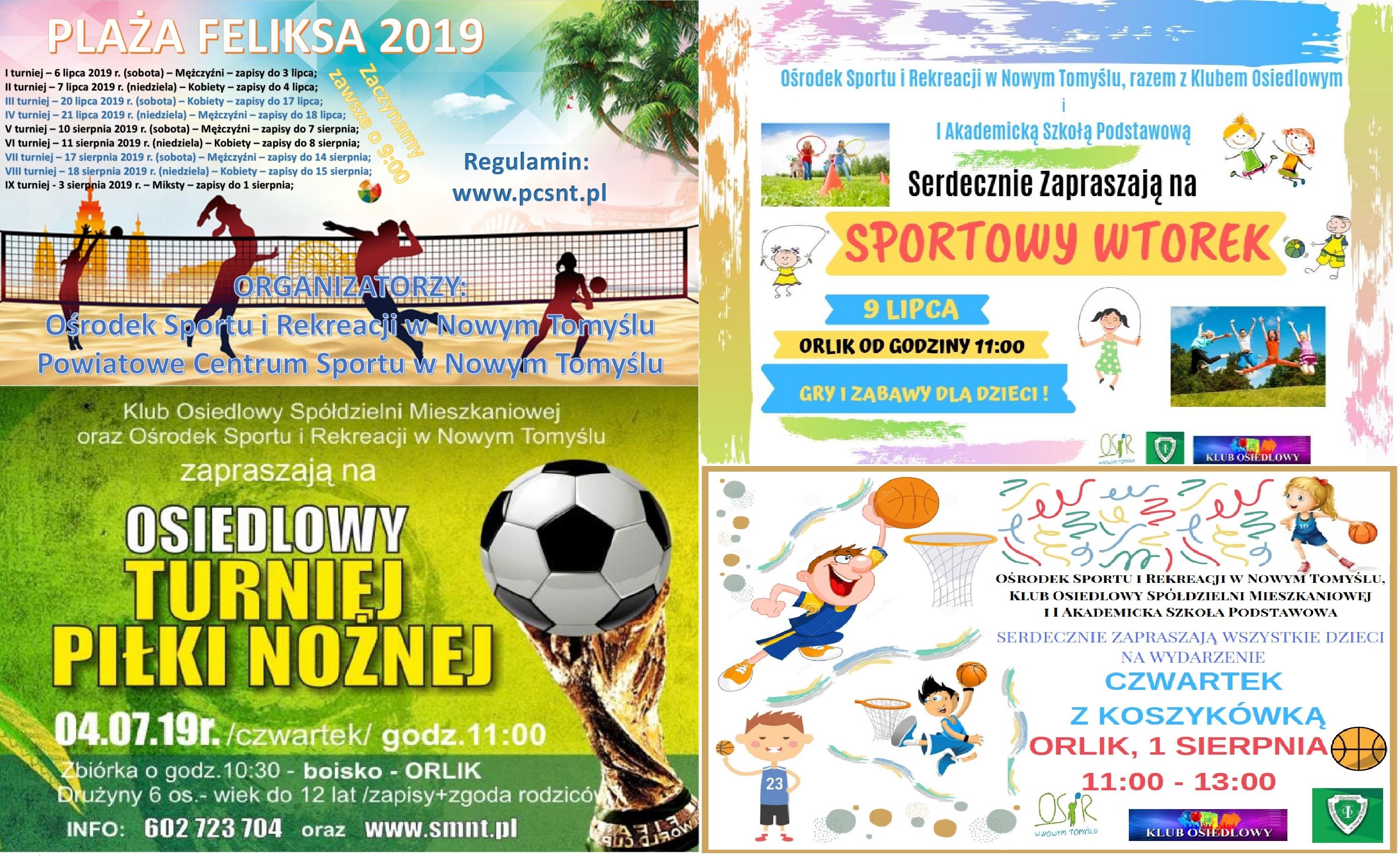 Sportowe wakacje z OSiR