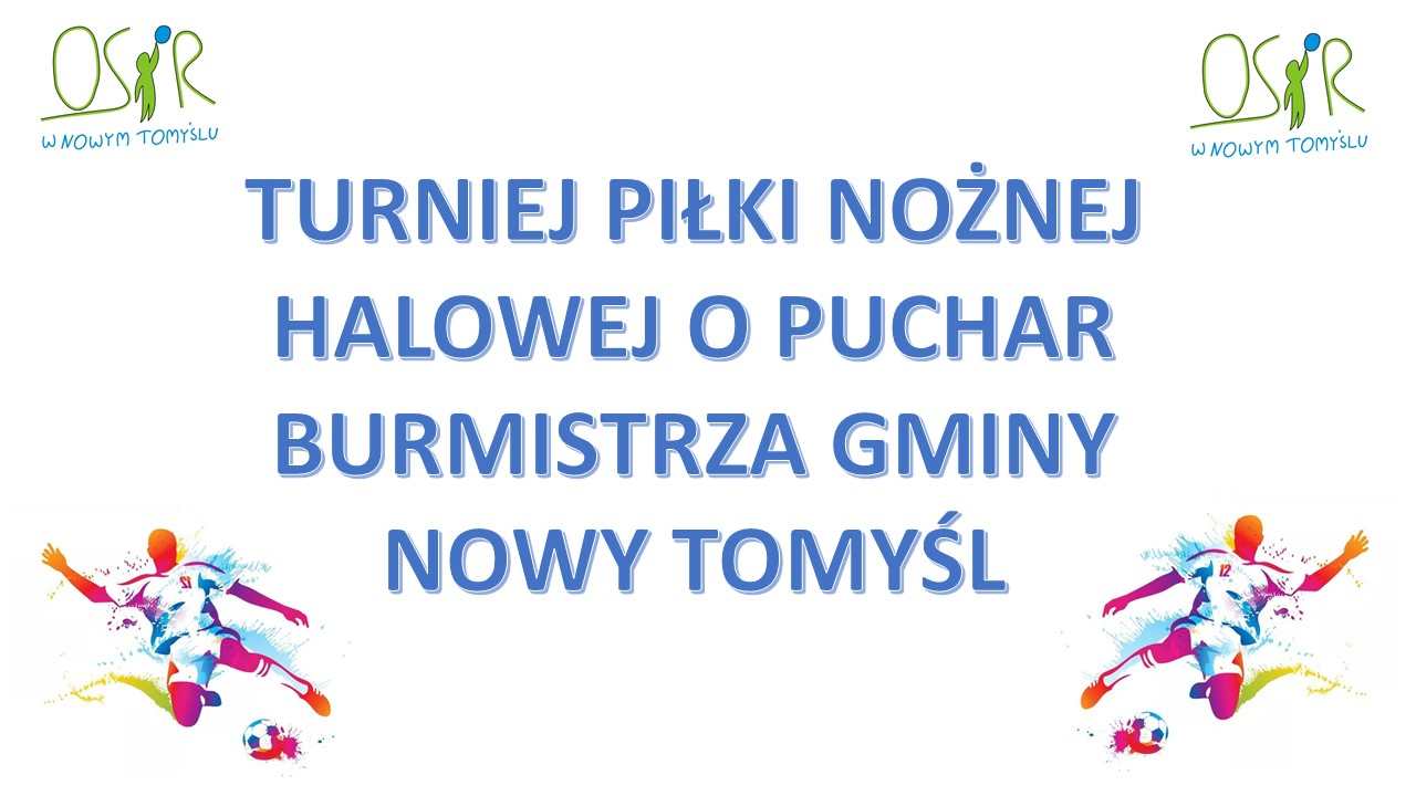 ROZPISKA MECZOWA – PUCHAR BURMISTRZA.