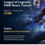 TURNIEJ E-SPORT –  LEAGUE OF LEGENDS  – OSIR 2021 – ZAPROSZENIE